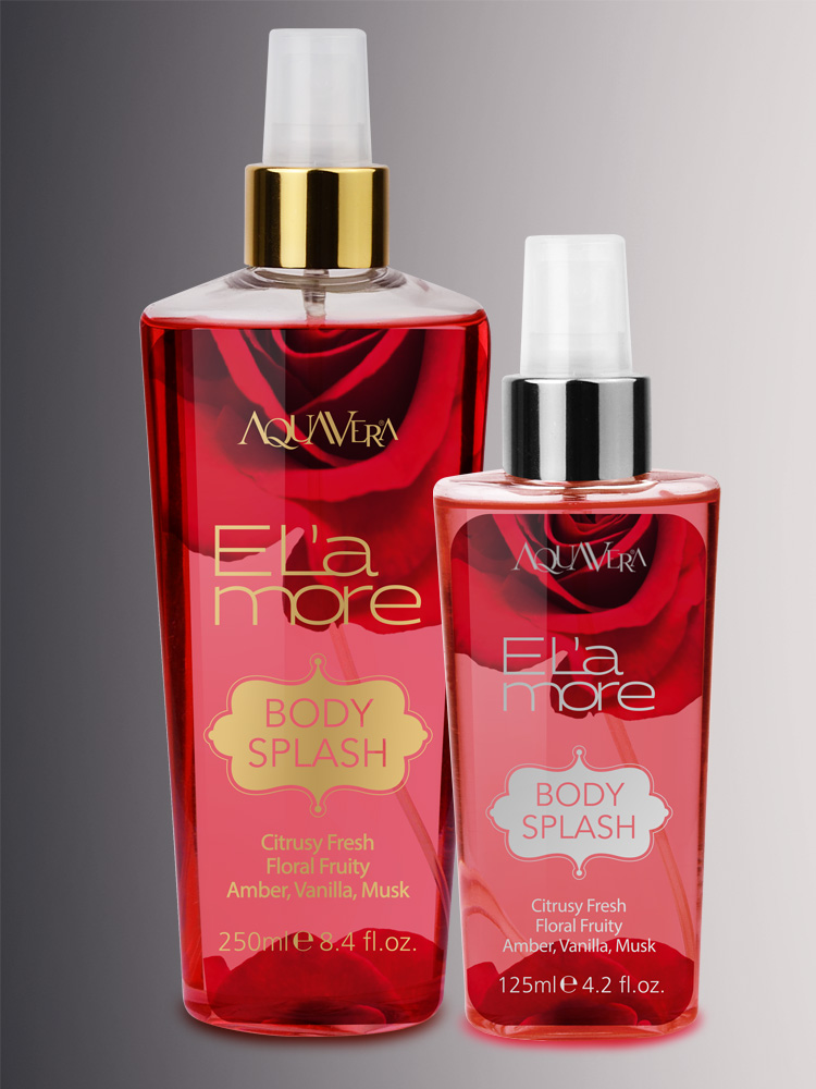 E L'amore Body Splash
